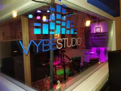 Vybe studio glass logo