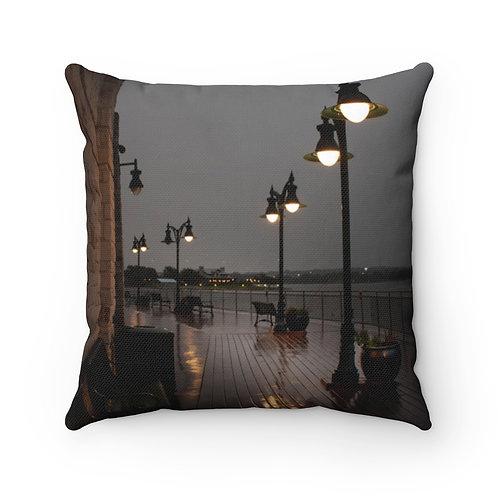 Waterfront Spun Polyester Square Pillow