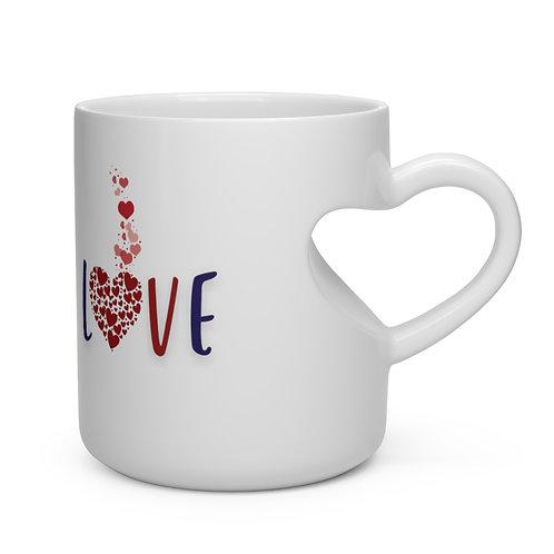 Love Heart Shape Mug