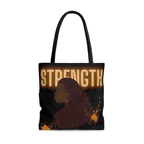 Strength AOP Tote Bag