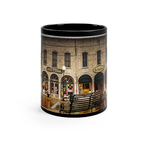 Nutshell Black mug 11oz