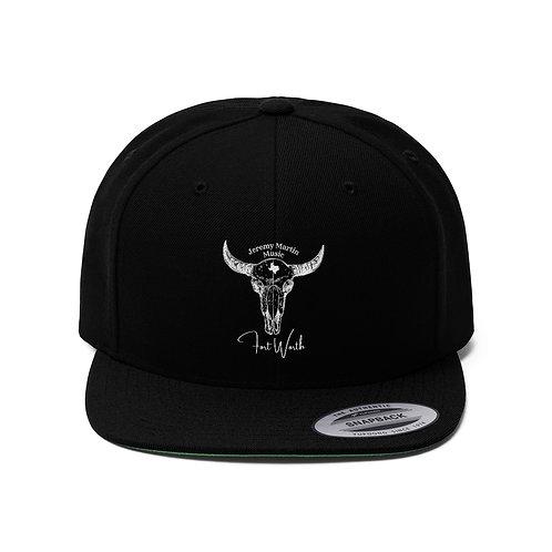 Jeremy Martin Music Unisex Flat Bill Hat