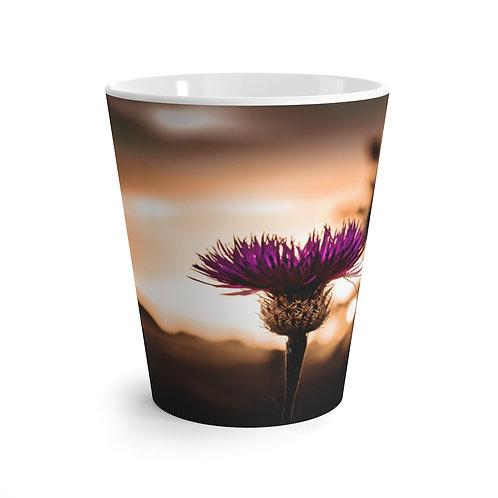 Floral Latte mug