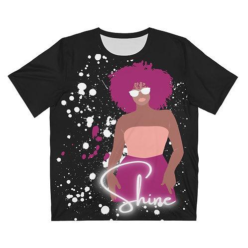 Shine Unisex AOP Cut & Sew T-Shirt