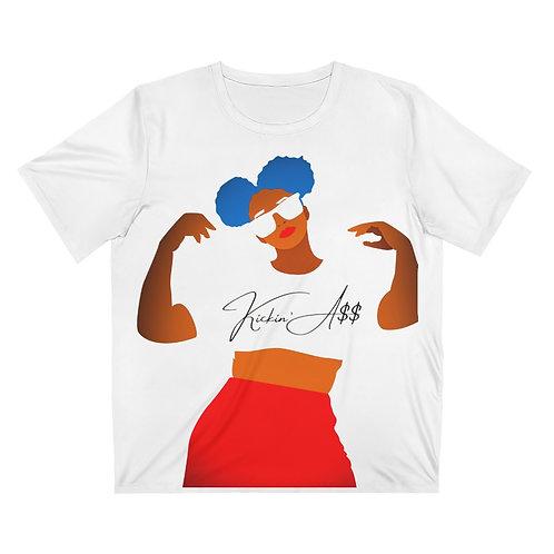 Kickin A$$ Unisex AOP Cut & Sew T-Shirt