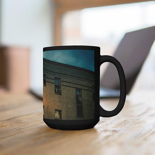 Texas Hotel Black Mug 15oz
