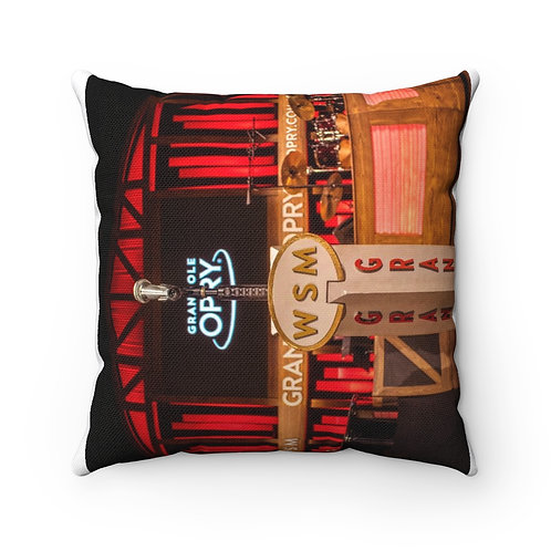 Grand Ole Opry Spun Polyester Square Pillow