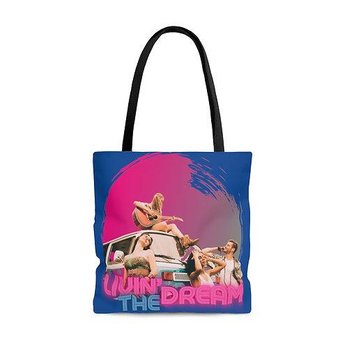 Livin The Dream AOP Tote Bag