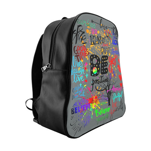 Be Positive School Backpack