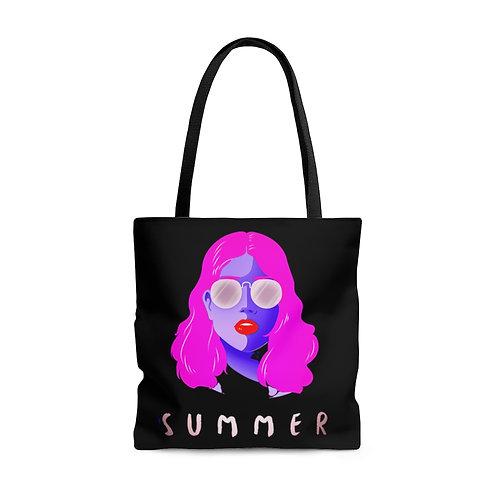 Summer AOP Tote Bag