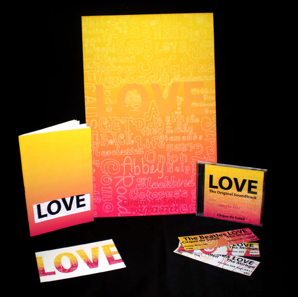 LOVE Promotional Materials