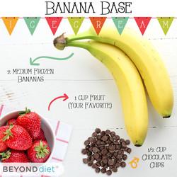 Banana Base Ice Cream
