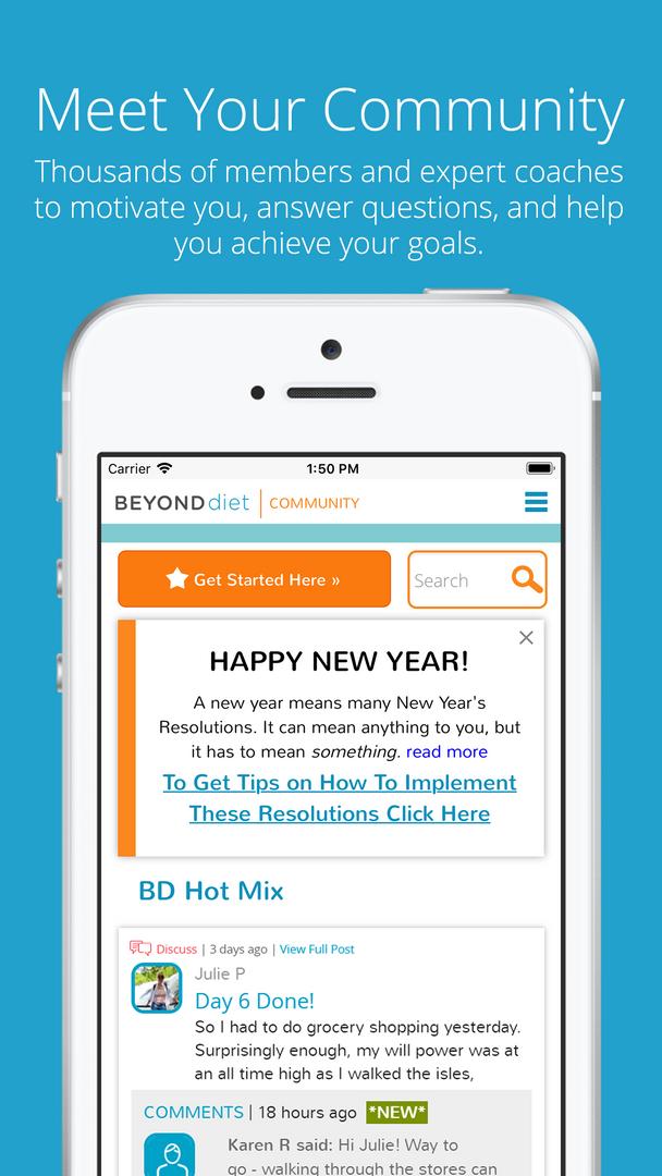 Beyond Diet App