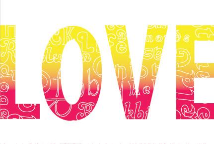 LOVE Postcard - Front