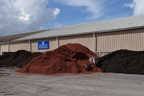 Brown, Red, & Black Mulch