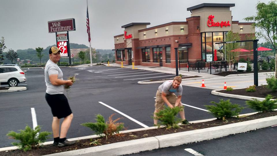 Servicing Chick-Fil-A Harrisburg