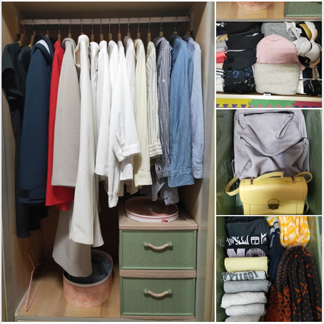 【Q魚開箱】完成度80%的理想衣櫥