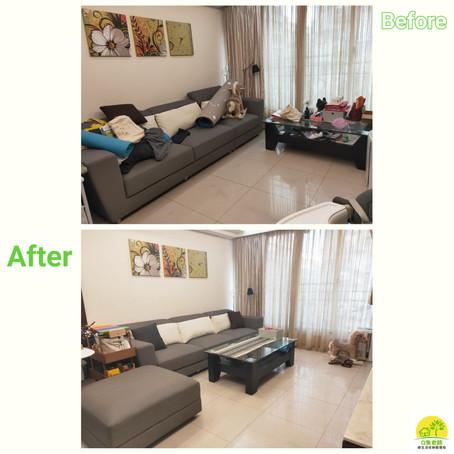 【客廳整理】重新擁抱能愜意休息的質感客廳🥰