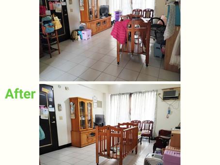 【客廳整理】貓主子盯場打造的全家放鬆區🐱