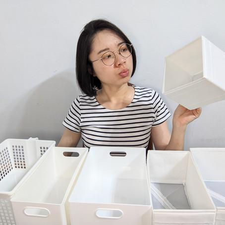 【整理5步驟】收納用品的意義與必要性