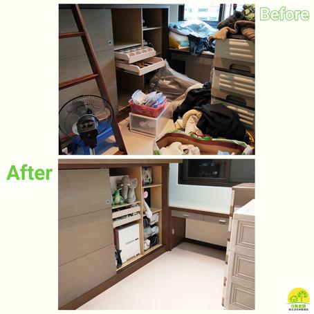 【衣櫥整理】衣櫃搬家的小空間大挑戰😲