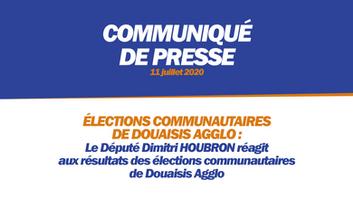 ÉLECTIONS COMMUNAUTAIRES DE DOUAISIS AGGLO