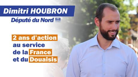 2 ans d'action au service de la France et du Douaisis