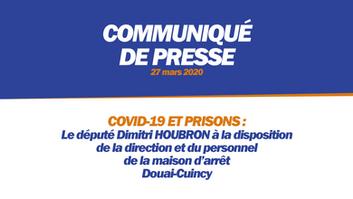 COVID-19 ET PRISONS