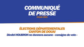 ÉLECTIONS DÉPARTEMENTALES - CANTON DE DOUAI