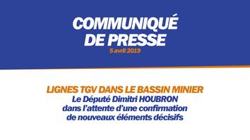 LIGNES TGV DANS LE BASSIN MINIER