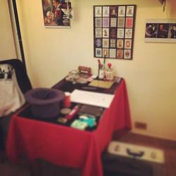 Preparando Show en el Estudio