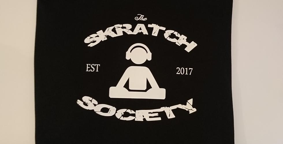 Skratch Society Black Turntablist Logo