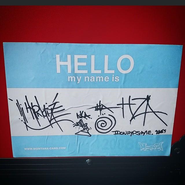 Hi, my name is..