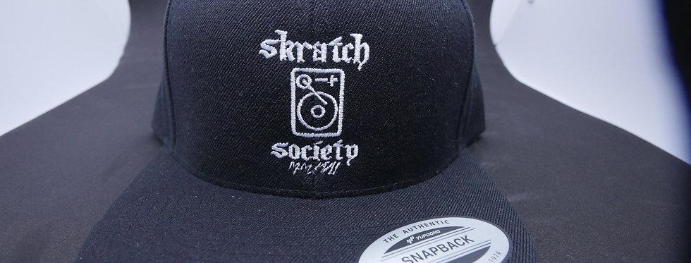 Skratch Society Snapback Black/White