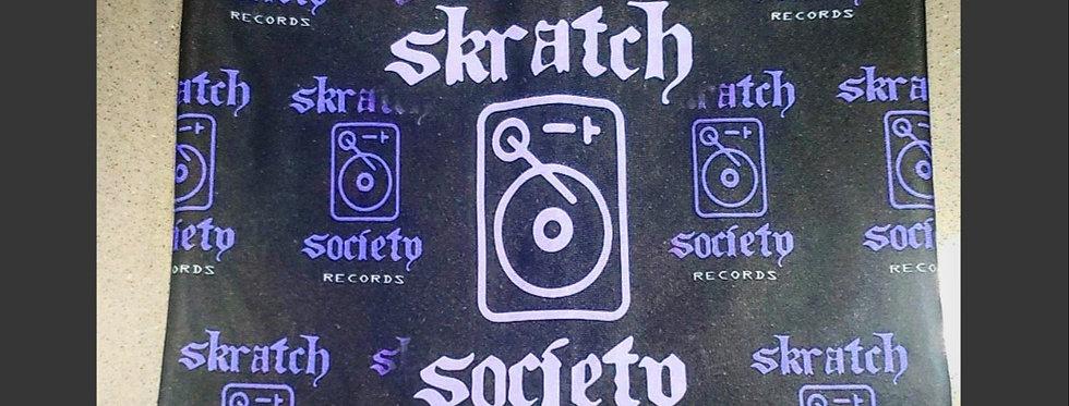 Reversible Shredder Mask - Skratch Society & Skratch Society Records
