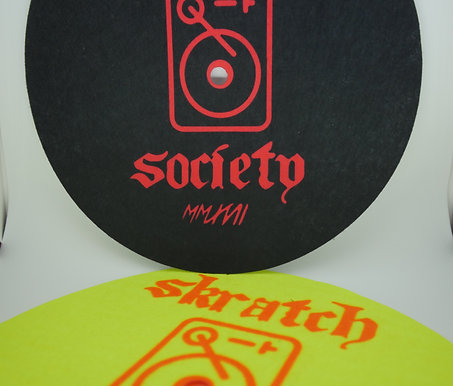 Skratch Society Slip-Mats Ver. 2.0