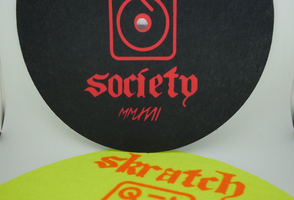 Skratch Society Shredder-Mats Ver. 2.0