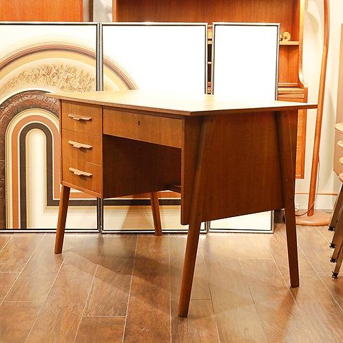 Compact Danish Modern Teak Desk