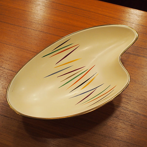 Vintage Pale Yellow German Bowl