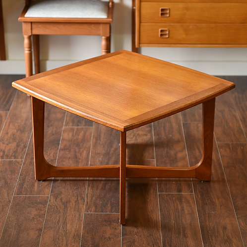 15%OFF Swedish teak square coffee table