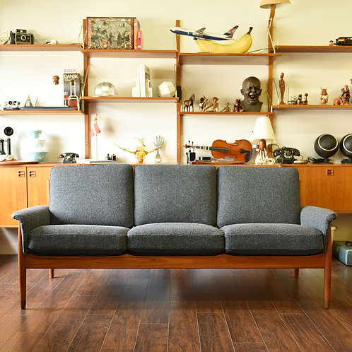 Beautiful Danish MCM Sofa by France & Son, Huge SALE! SALE EDNS SOON!