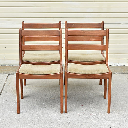 Danish vintage dining chairs