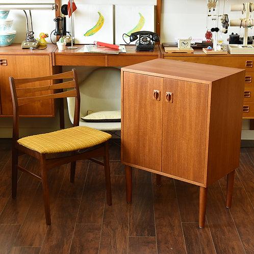 Danish teak Compact sized mini cabinet
