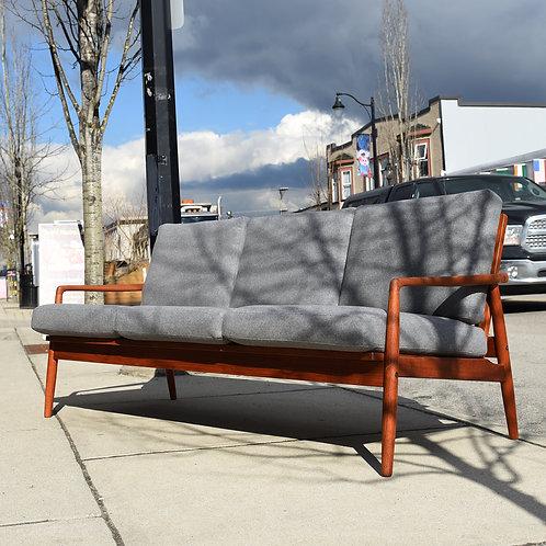 Danish Modern Teak Sofa by  SL Mobler, Durup, Denmark