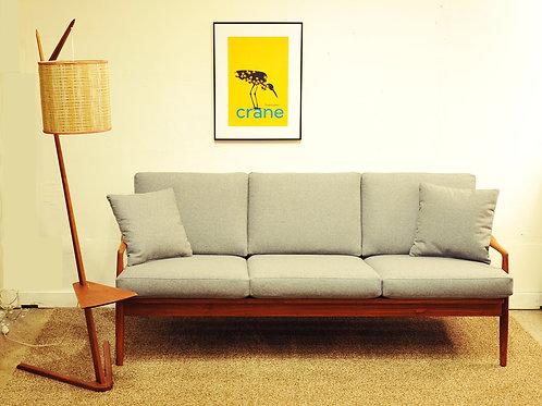 Mid Century Danish Modern 3 Seat Sofa