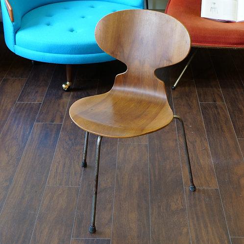 Vintage Danish Modern 3 Legged Ant Chair by Arne Jacobsen for Frizt Hansen