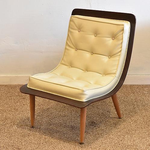 Vintage Scoop Chair