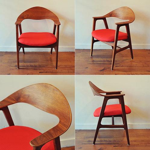 Vintage MCM Accent Arm Chair