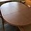 Thumbnail: Danish Teak Round Pedestal Dining Table with 2 leaves