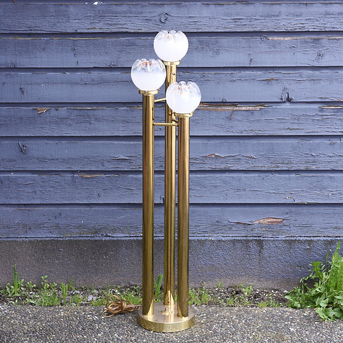 A.V. Mazzega Murano Glass Floor Lamp